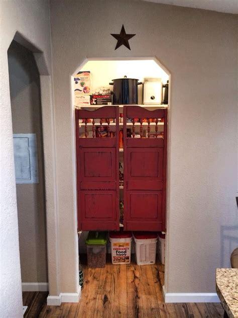 saloon doors   pantry  cute    closes