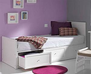 lit bois avec tiroirs 5032 With tapis persan avec canapé lit pour une personne