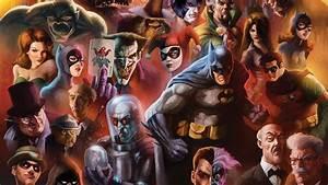 DC Comics Characters Poster Desktop Wallpaper