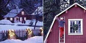 Laterne Dekorieren Lichterkette : weihnachtsdeko mit lichterketten und laternen im garten ~ Watch28wear.com Haus und Dekorationen