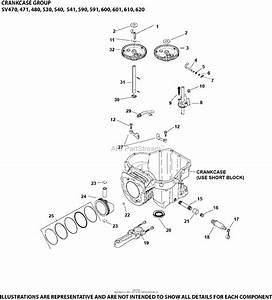 35 Kohler Sv540 Parts Diagram