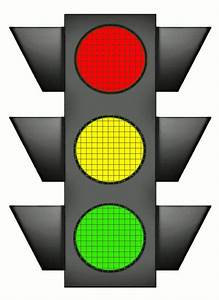 Traffic Signal Large All Colors Night  Travel  Large