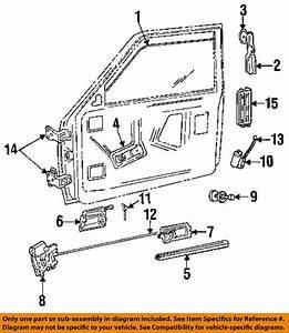 2005 Dodge Magnum Driver Door Latch Repair Diagram
