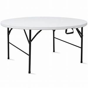Table Pliante Ronde 10 Places