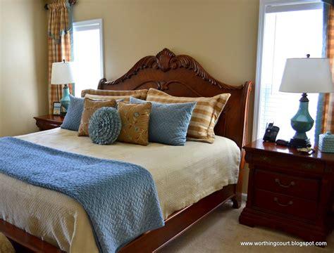 Bedroom Curtains Brown