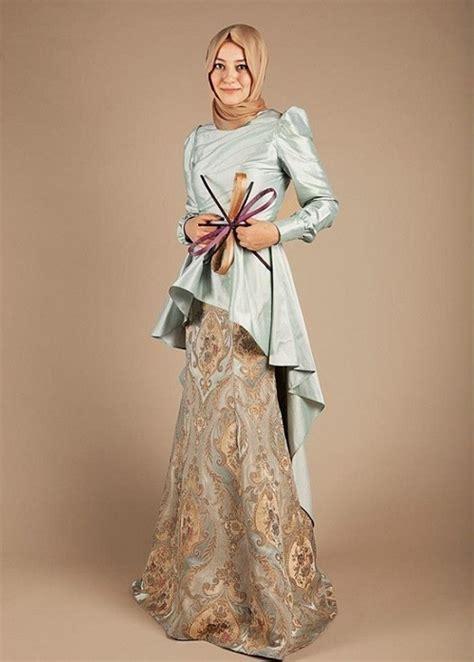 model kebaya muslim terbaru modern elegan