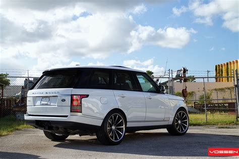 wheels land rover 2013 range rover gets custom vossen wheels autoevolution