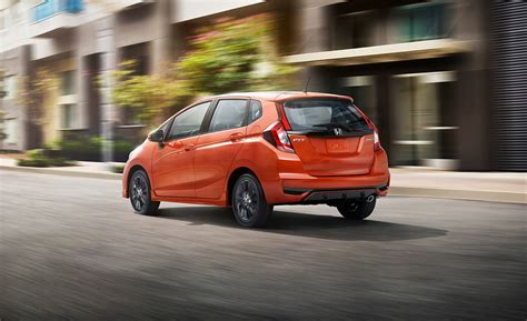 Honda Fit Hybrid 2020 by Honda 2019 2020 Honda Fit Hatchback Rear View Photo
