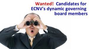Wanted! Candidates for ECNV's Dynamic Governing Board ...
