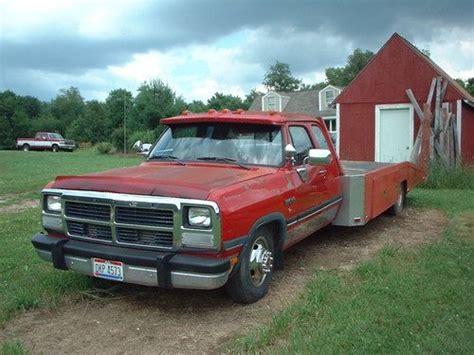 find   dodge  diesel car hauler