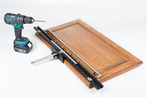 drilling jig for cabinet and drawer handles how it works a puck light jig to be shown at 2016
