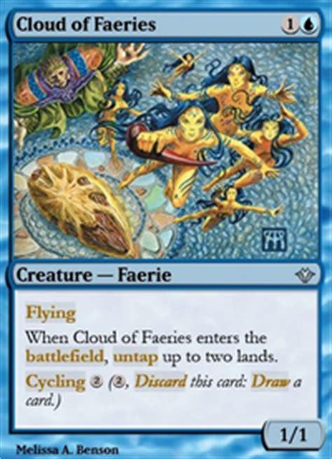 mtg faerie deck legacy mono blue faeries legacy mtg deck