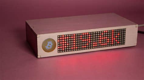 Run the main program bcbar.py. The Ultimate Bitcoin Tracker | Details | Hackaday.io