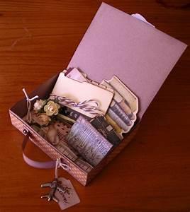Artfull Crafts: Lisa sharing a Suitcase made using ...