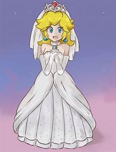 super mario odyssey wedding princess peach by With princess peach wedding dress