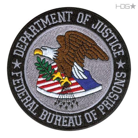 federal bureau of prisons bop seal patch large color hdg tactical