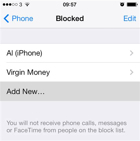 how to unblock contacts on iphone how to block calls and text messages on iphone using ios 7