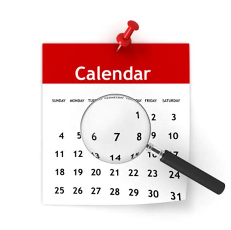 calendar official district calendars