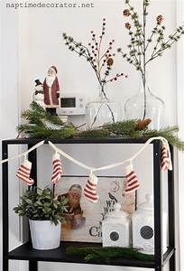 Decorating, The, New, Kitchen, Shelves, For, Christmas