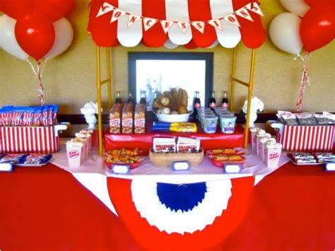 baseball themed food ideas  parties  celebration