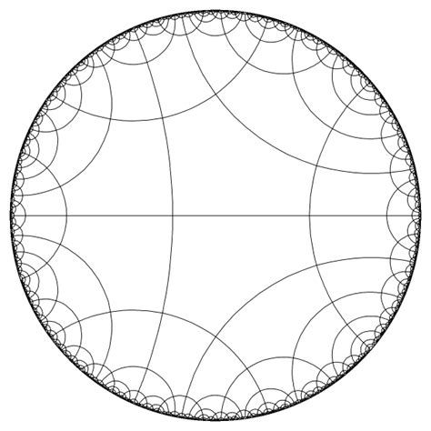 tilings of the hyperbolic space and their visualization