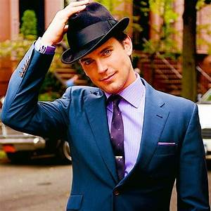 Matt Bomer in a black fedora. | Fashion:Hats | Pinterest ...