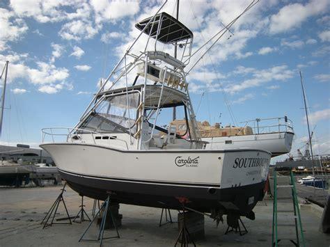 Boat Trader Carolina Classic 28 by 28 Carolina Classic 67k Cummins Diesels W Tower The