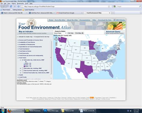 cuisines atlas usda food environment atlas advanced gis web gis
