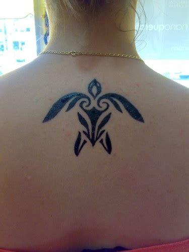 Hawaiian Turtle Tattoo Simple