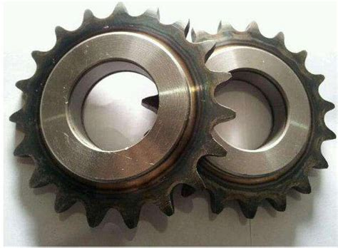 Polishing Industrial Chain Drive Sprockets , Stainless