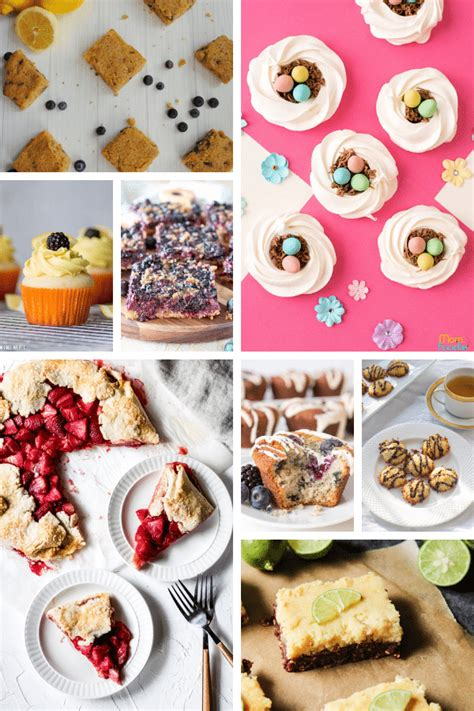 Can you believe easter is coming up this sunday, where did the time go? 25 Gluten-Free Easter Dessert Recipes • Wanderlust and ...