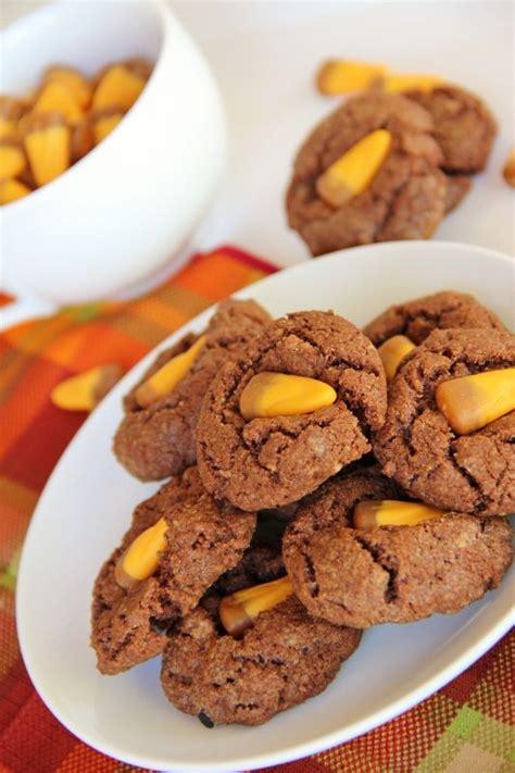 Caramel Candy Corn Cookies