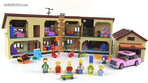 Lego The Simpsons House 71006 Set Review