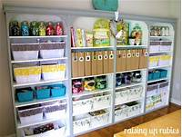 craft room organization ideas {Home} Craft Room Organization - Mirabelle Creations