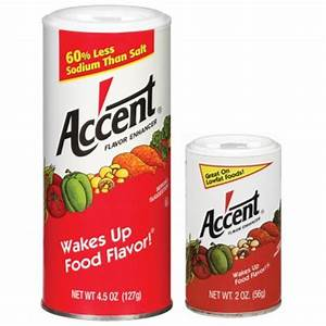 Accent Flavor Enhancer - Ac'cent Flavor Enhancer