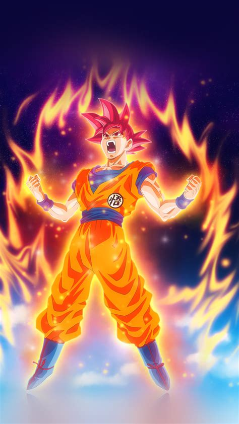 dragon ball fire art illustration hero anime wallpaper