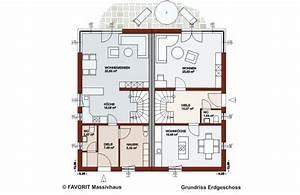 Grundriss Doppelhaushälfte Seitlicher Eingang : finesse 166 favorit massivhaus ~ Markanthonyermac.com Haus und Dekorationen