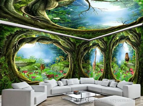 ceiling murals wallpaper customize photo  ceiling