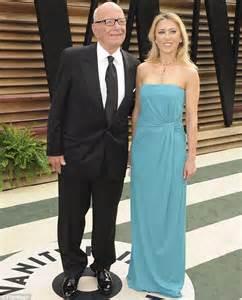 Rupert Murdoch attends Vanity Fair Oscar party with a ...