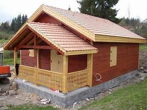 Vente Chalet Bois Habitable : chalet bois habitable joy studio design gallery best design ~ Melissatoandfro.com Idées de Décoration