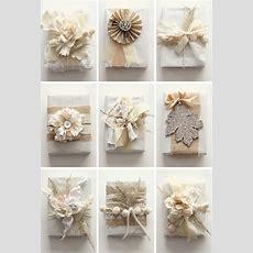 White Wardrobe Christmas Gift Wrapping Ideas