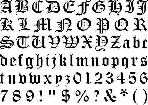 blackletter question mark google search