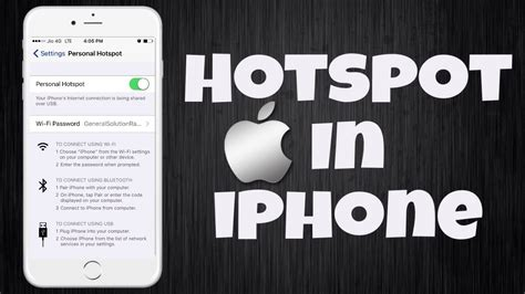 hotspot on iphone 6 hotspot in iphone solved how to activate personal