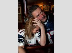 New England Patriots fans watch Super Bowl XLVI in Boston