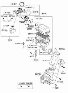 281384d200 - Hyundai Hose