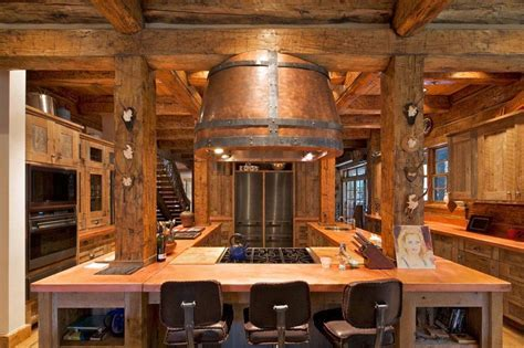 Log Cabin Kitchens (Cabinets & Design Ideas)   Designing Idea