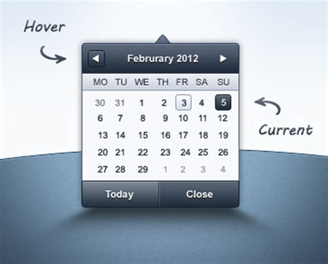 Datepicker Html Template by 28 Datepickers For Website Ui And Mobile Apps