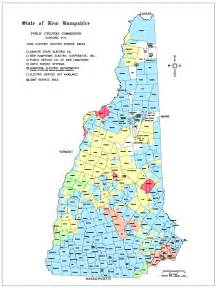 New Hampshire Utility Map