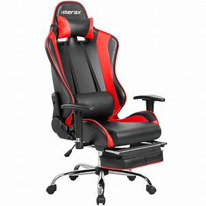 Merax Gaming Stuhl : merax 90 180 degree adjustable high backrest leather ~ Watch28wear.com Haus und Dekorationen