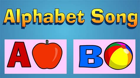 The Alphabet Song Youtube